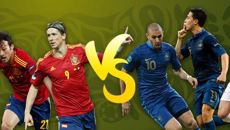 """España-Francia: Los """"blues"""" contra el fútbol"""