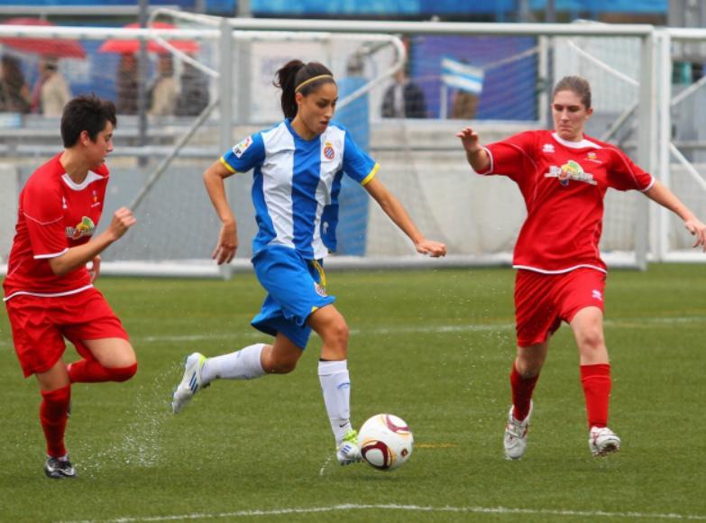 Victorias del Espanyol B y juvenil y empate del femenino