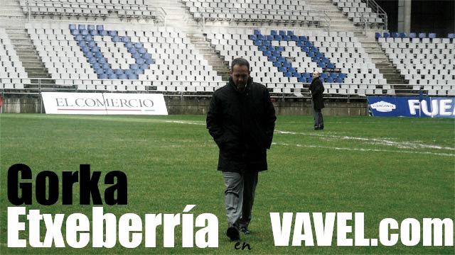"""Entrevista. Gorka Etxeberría: """"Antes era de Salamanca y ahora soy del Salamanca"""""""