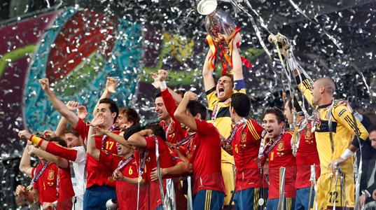 España, campeona en el partido más visto de la historia