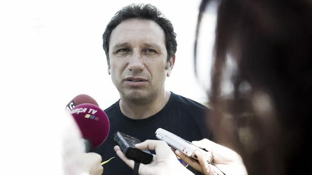 """Eusebio: """"Afrontamos el partido con mucha ilusión y ganas de hacerlo bien"""""""