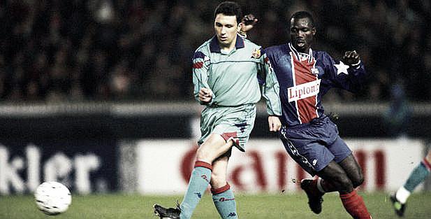 Serial FC Barcelona - PSG: Champions 1995. Weah y la resaca del Dream Team