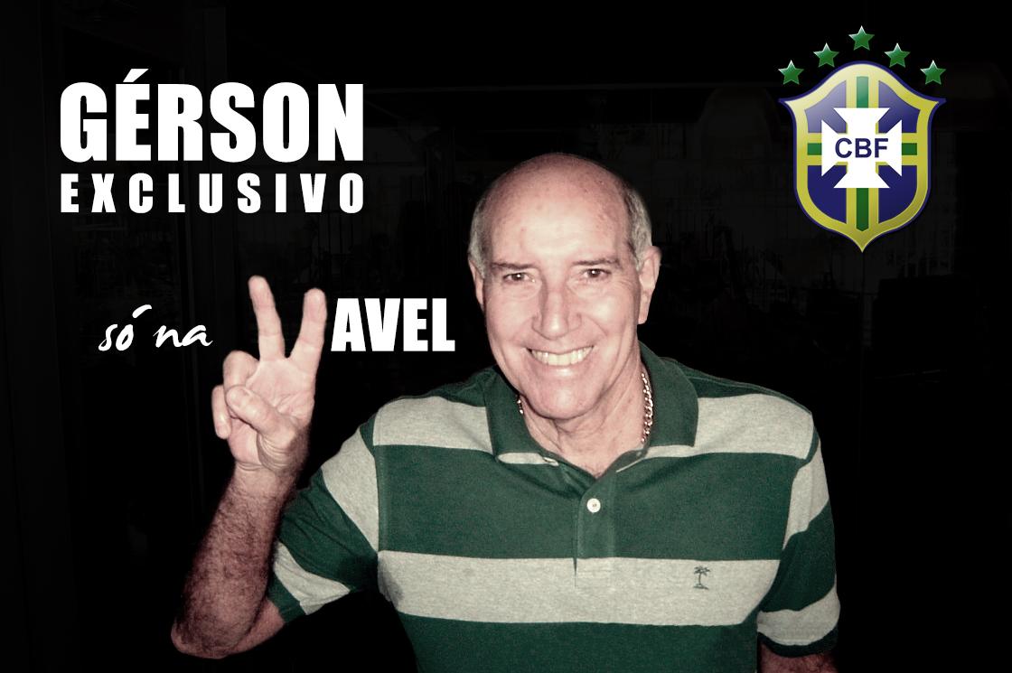 "Com exclusividade, Gérson afirma: ""O Brasil só é favorito porque está dentro de casa"""