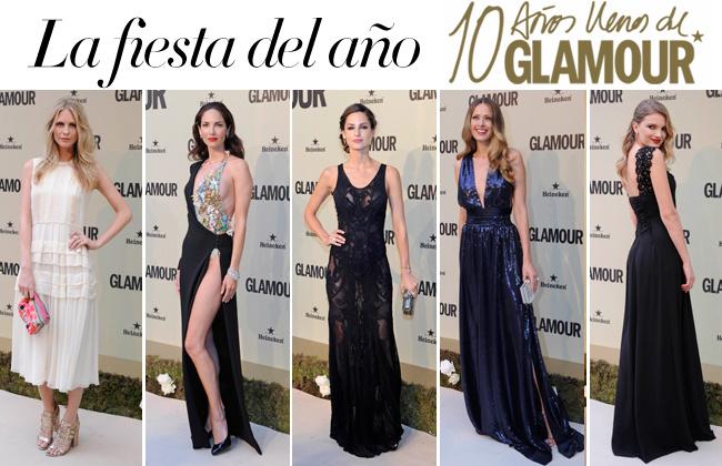 10 años de la revista Glamour