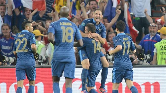 Francia gana después de 6 años