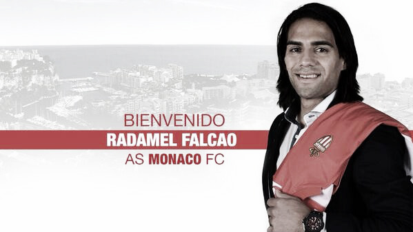 Falcao signe à l'AS Monaco