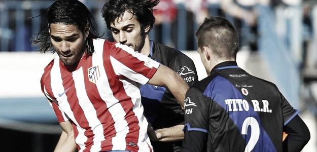 El Atlético de Madrid vence mostrando sus dos caras