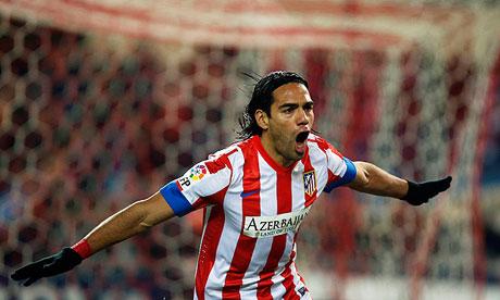 Falcao cumplirá 50 partidos en liga con el Atlético de Madrid