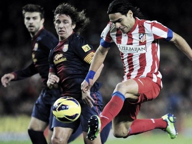 Resultado Atlético de Madrid - Barcelona en la Liga 2013 (1-2)