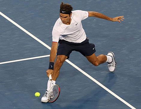 Roger Federer, incansable