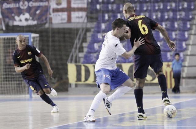 El Barça Alusport recupera sensaciones goleando a Umacón Zaragoza
