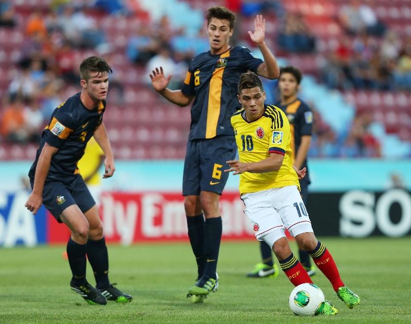 Resultado Colombia - Turquía en el Mundial sub-20 de 2013 (1-0)