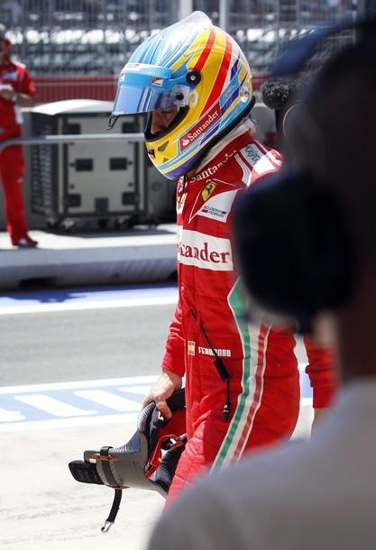 """Alonso: """"Los puntos se dan mañana"""""""
