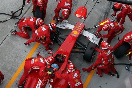 Ferrari no puede relajarse; los rivales están muy fuerte