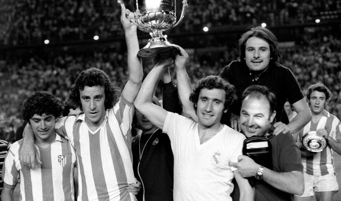 Serial final Copa del Rey: 1975, Miguel Ángel obra la única victoria blanca