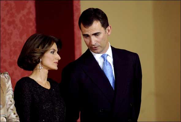 La princesa Letizia, permite al Príncipe Felipe coger el teléfono en Zarzuela