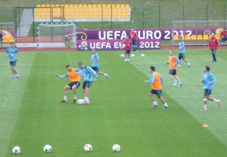 España se prepara para enfrentarse a Croacia sin dar pistas