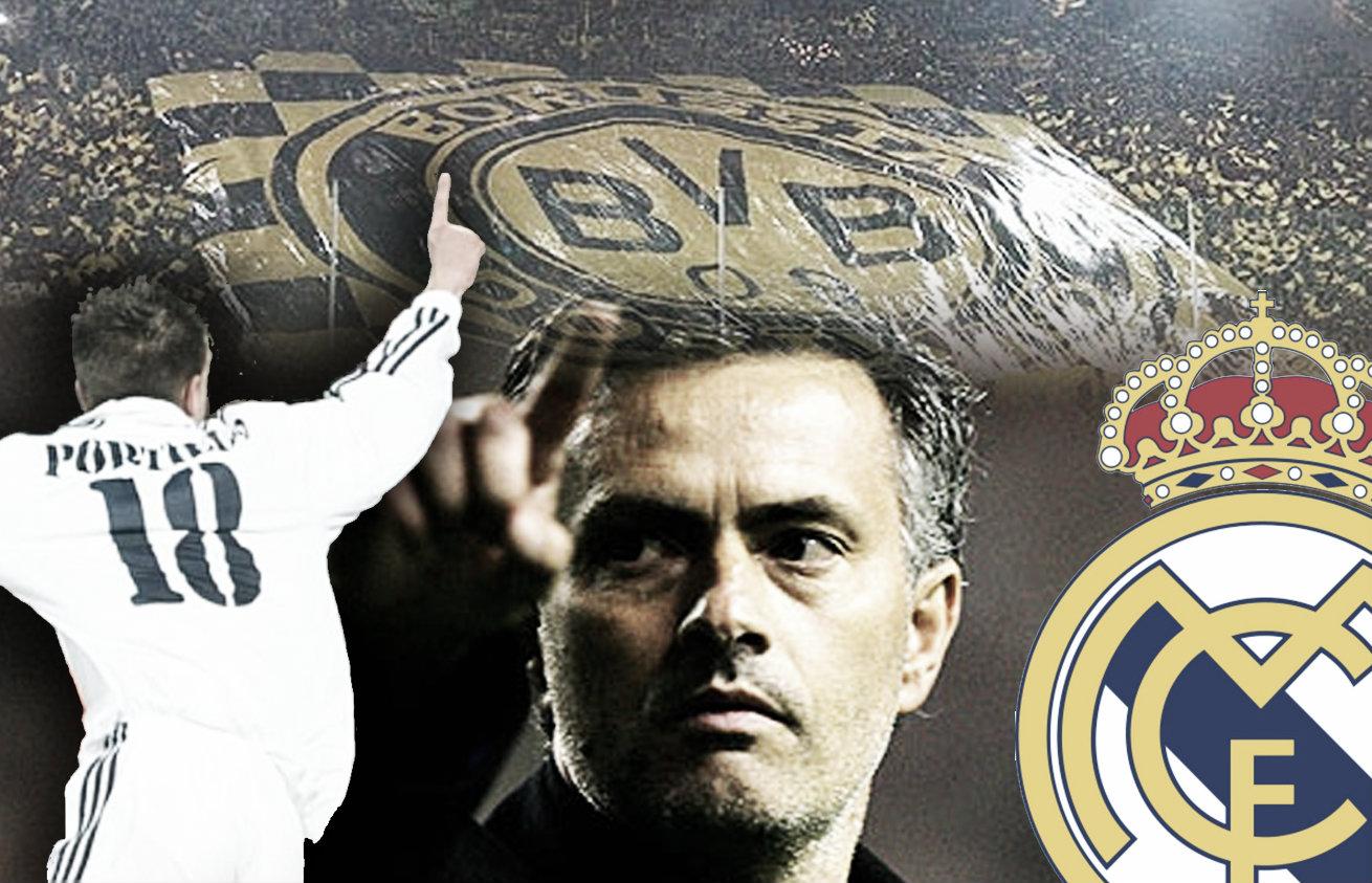 Dortmund, la cuenta pendiente para Real Madrid y Mourinho