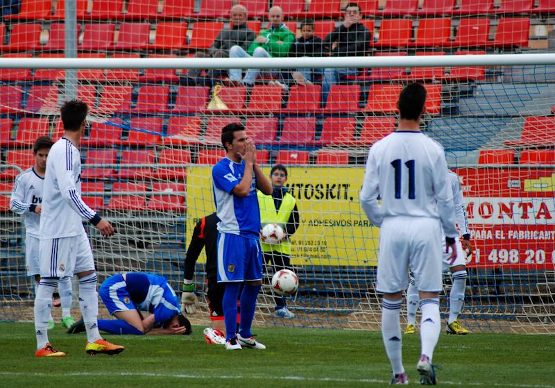 Fuenlabrada 0-2 Real Madrid C: la pegada vale puntos