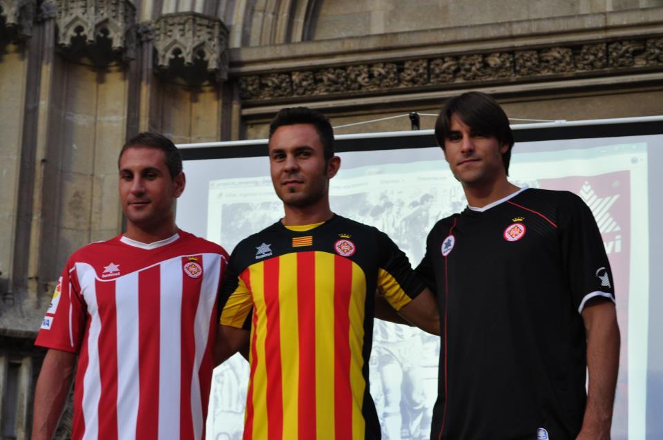 Nuevas camisetas del Girona FC