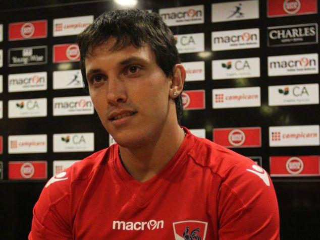"""""""Checho"""" Rodríguez: """"Mi meta es llegar algún día a jugar competiciones europeas con Gil Vicente"""""""