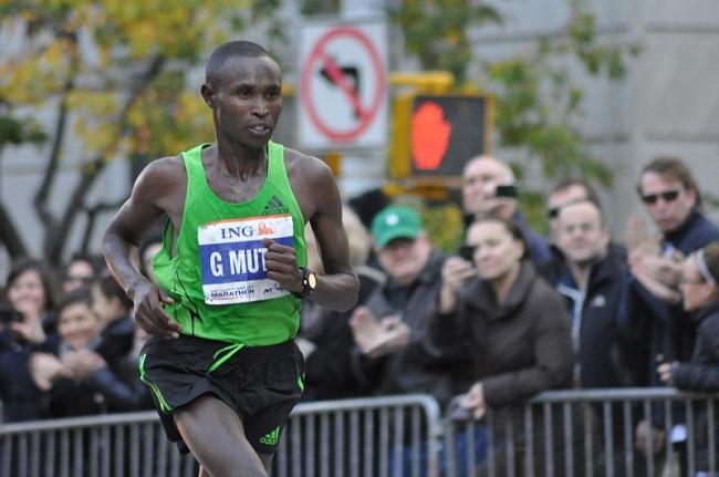 Mutai se queda sin récord en un final extraño