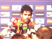 """Diego Costa: """"Tengo que aprovechar las oportunidades y continuar trabajando así"""""""