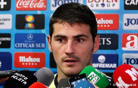 """Casillas: """"Es un partido para olvidar"""""""