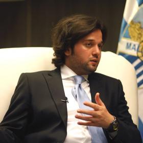 """Ghubn, vicepresidente del Málaga: """"Vamos a trabajar para seguir creciendo"""""""