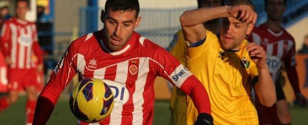 El Girona sale goleado de Santo Domingo