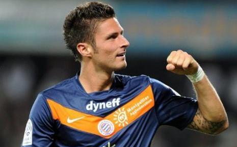 Oliver Giroud amenaza al Olympique de Marsella