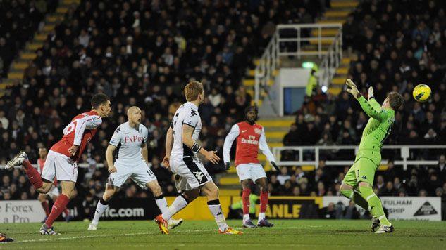 Merecida victoria del Fulham ante un Arsenal irreconocible