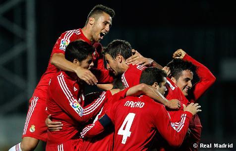 El Castilla arranca su primer triunfo a domicilio en un gran partido ante el Guadalajara