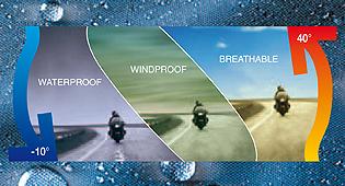 Viajar en moto en invierno