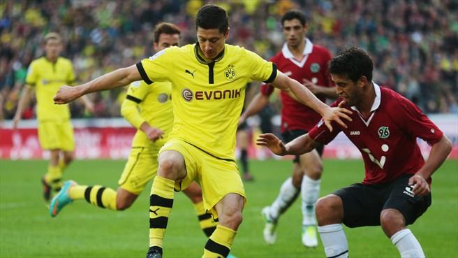 El Borussia Dortmund se estrella en su visita a Hannover
