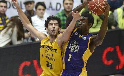 El Herbalife Gran Canaria se asegura el 'playoff' tras imponerse al Blancos Rueda