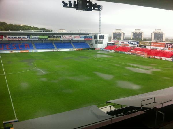 Posible aplazamiento del Huesca-Barça B