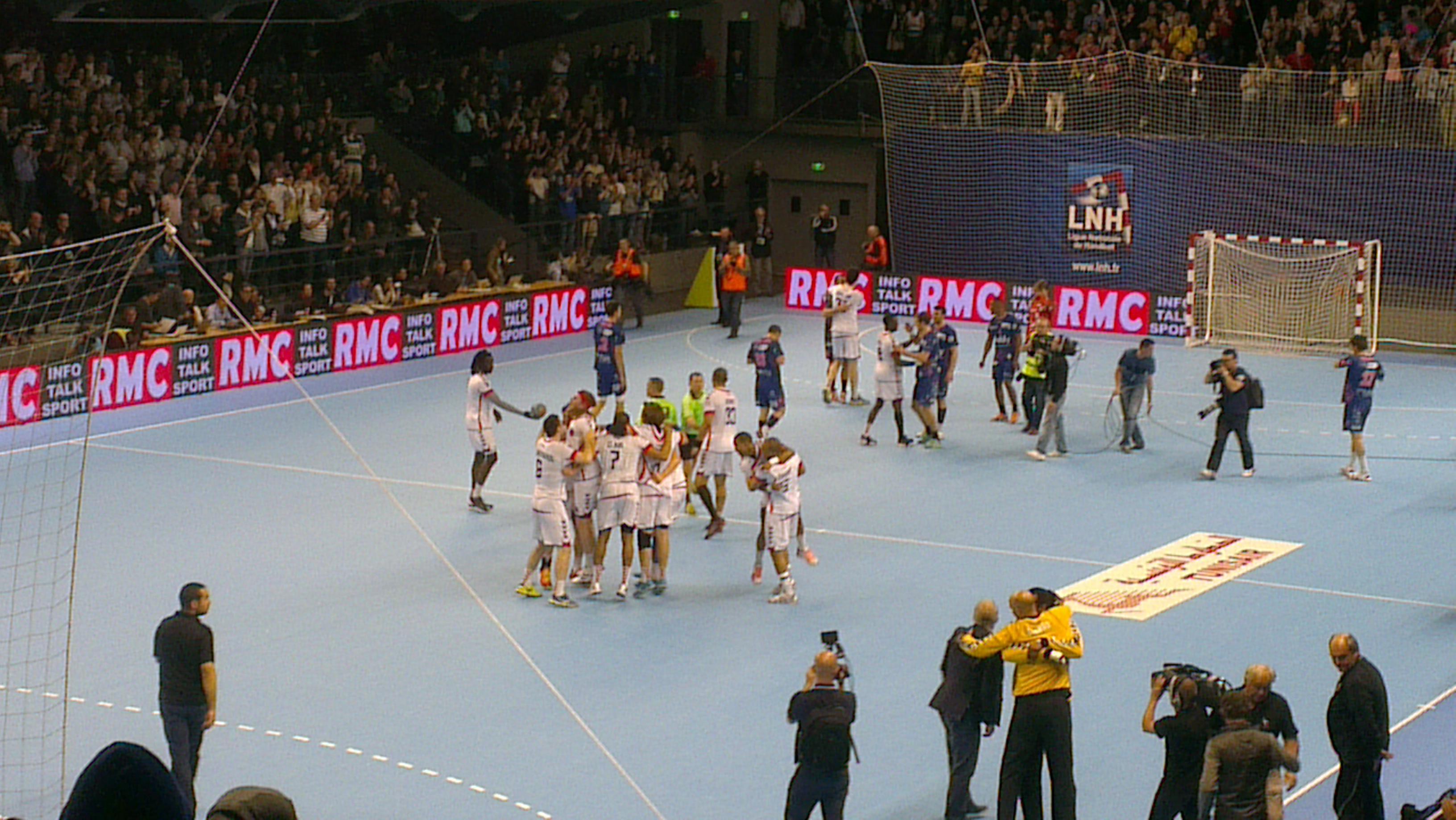 Le PSG Handball s'assure le sacre à Rennes