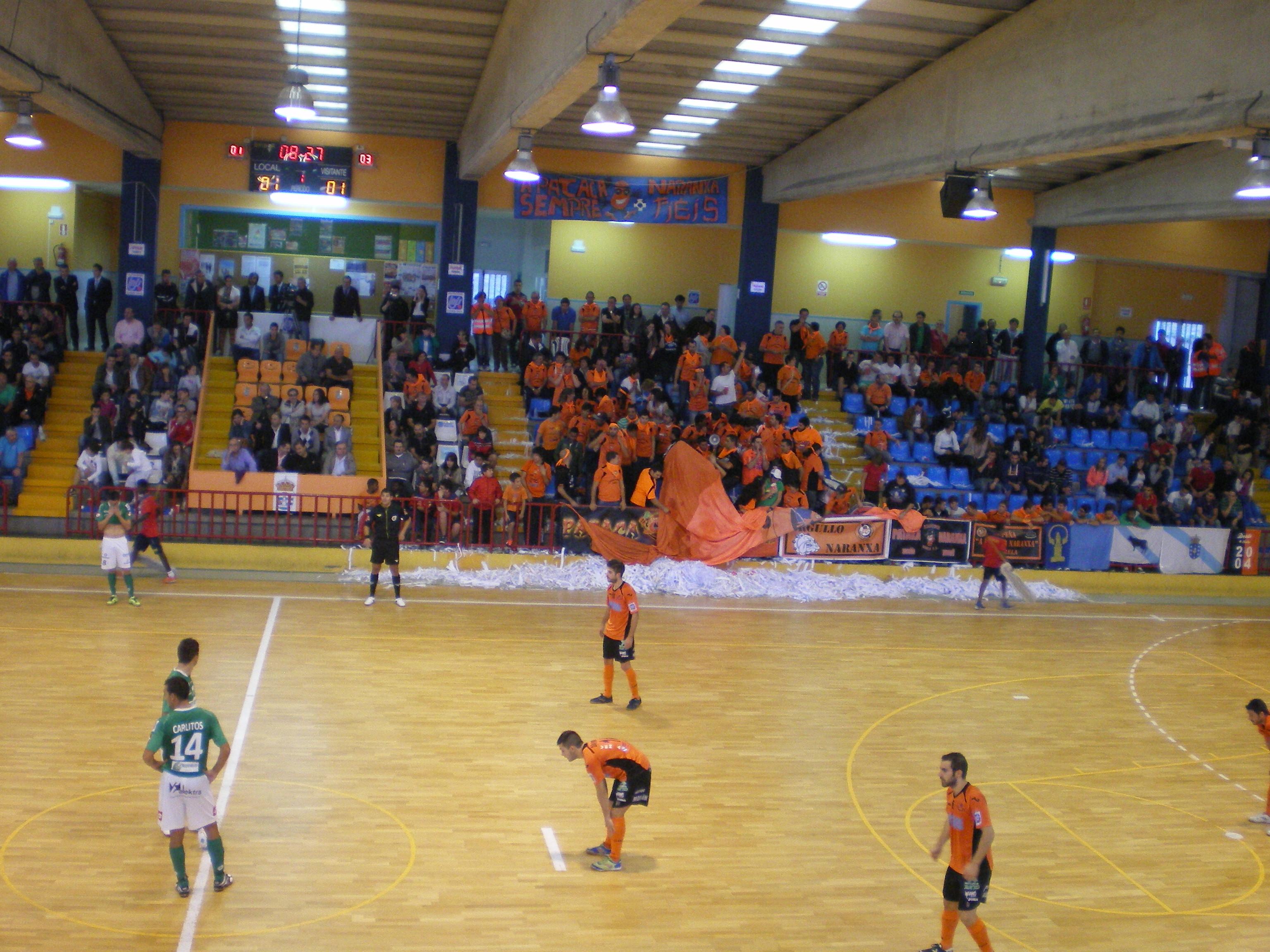 Burela FS - Triman Navarra: victoria navarra en el último minuto