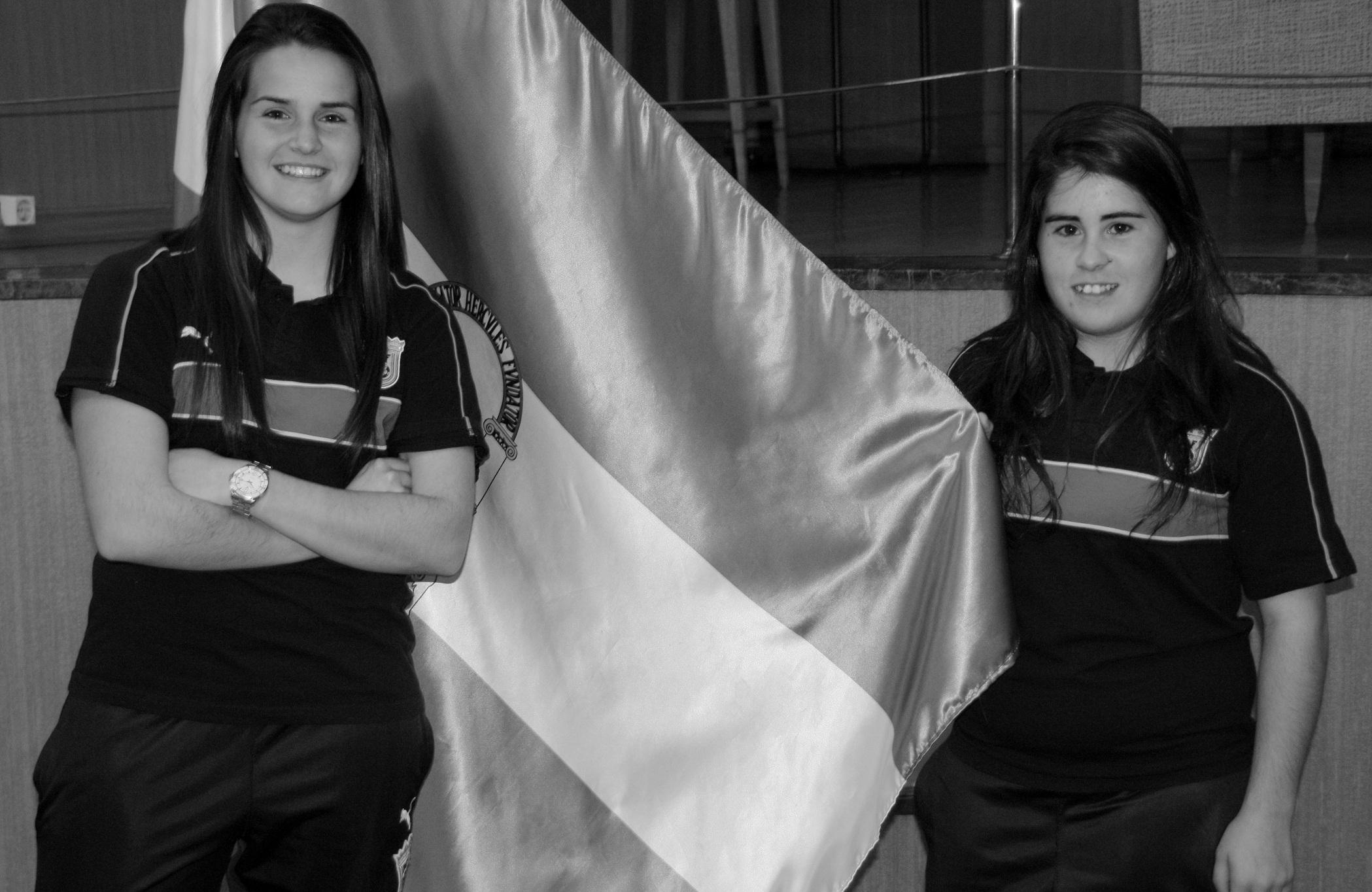 """Andrea Romero y Lorena Barranco: """"Tenemos la responsabilidad de representar a toda Andalucía"""""""