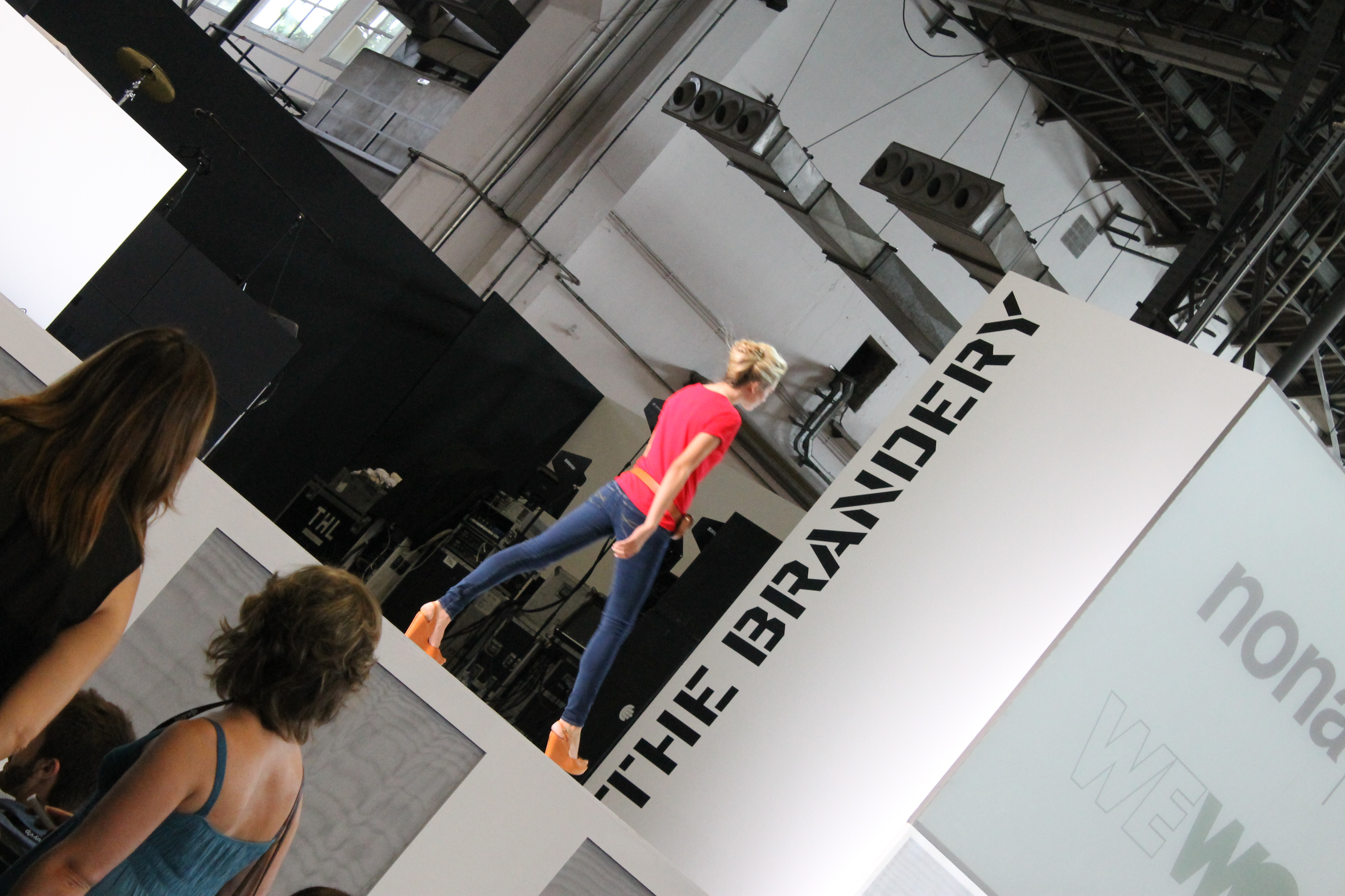 The Brandery: desfiles, stands y mojitos