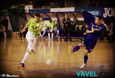 Inter Movistar 4-3 Azkar Lugo: el partido en imágenes