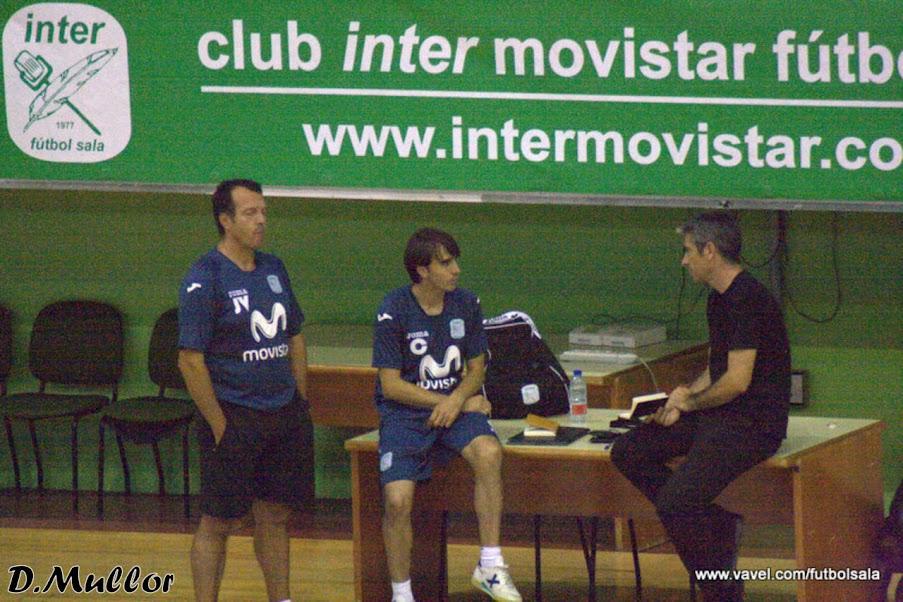 César Muñoz, nuevo miembro del cuerpo técnico de Inter Movistar