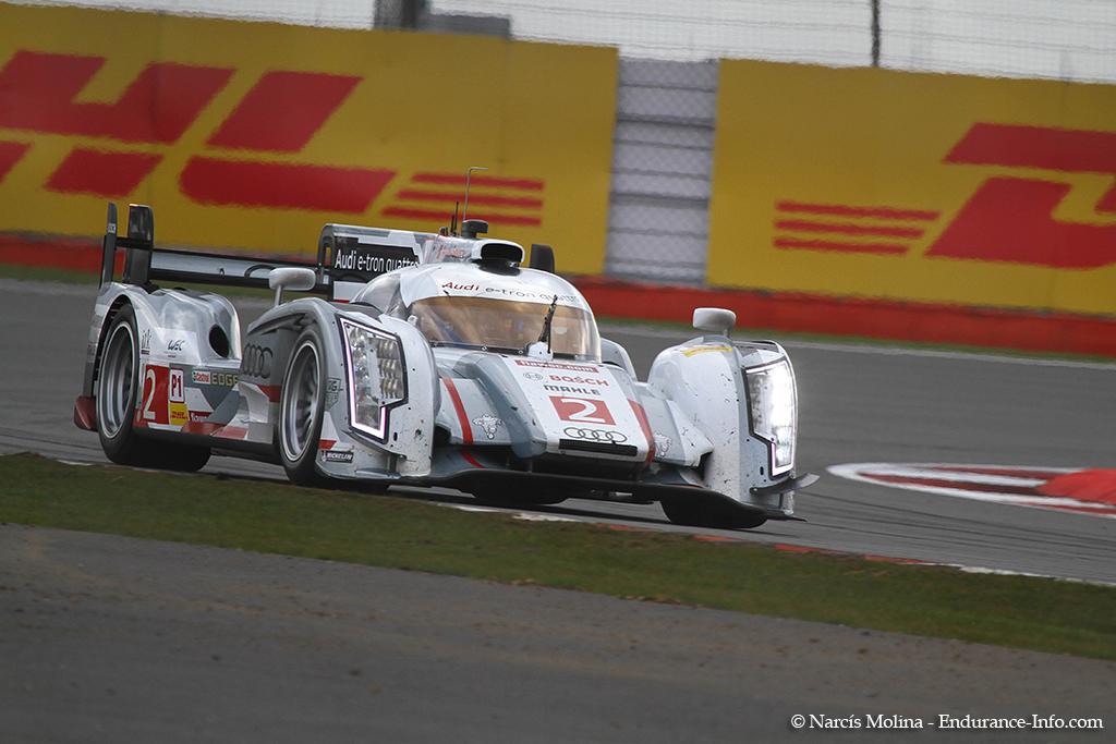 WEC / Silverstone : Audi domine, Toyota rumine