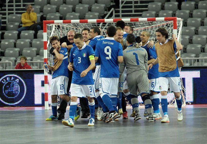 Italia se muestra optimista de cara al duelo con España
