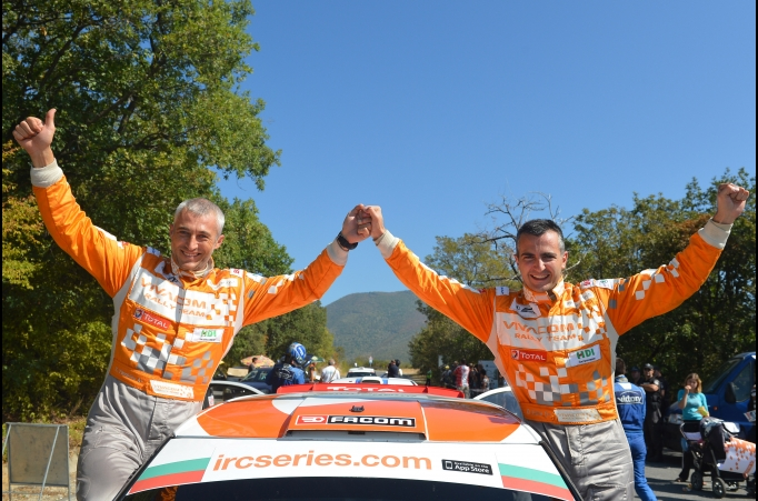 Iliev administra su ventaja y se lleva el Sliven Rally