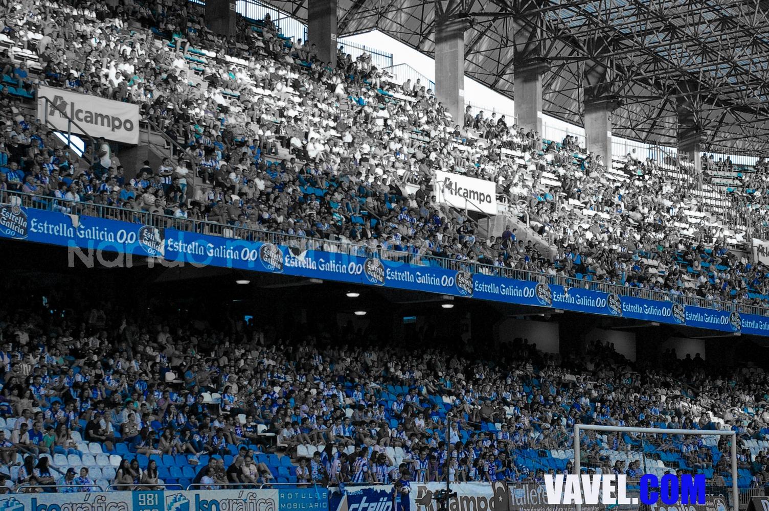 El Deportivo se arropa con 25.000 fieles