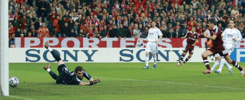 Serial Real Madrid-Bayern de Múnich 06/07: el Capello más defensivo condena al Madrid