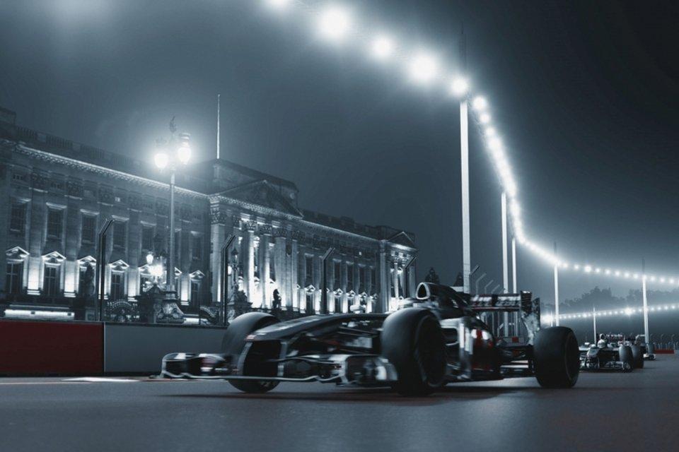 Una vuelta a bordo por el circuito de Londres de F1