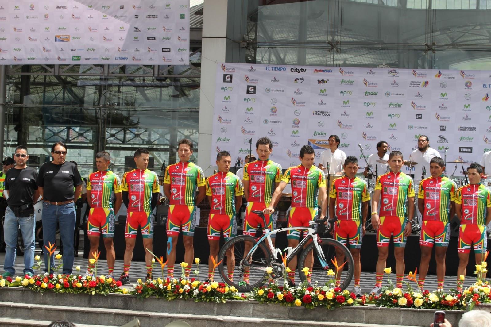18 equipos tomaran partida en la edición N° 63 de la Vuelta a Colombia